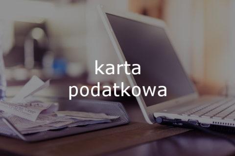 oferta biura - karta podatkowa
