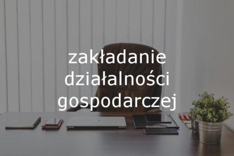 oferta biura - zakładanie działalności gospodarczej
